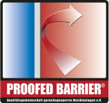 Proofed Barrier Logo